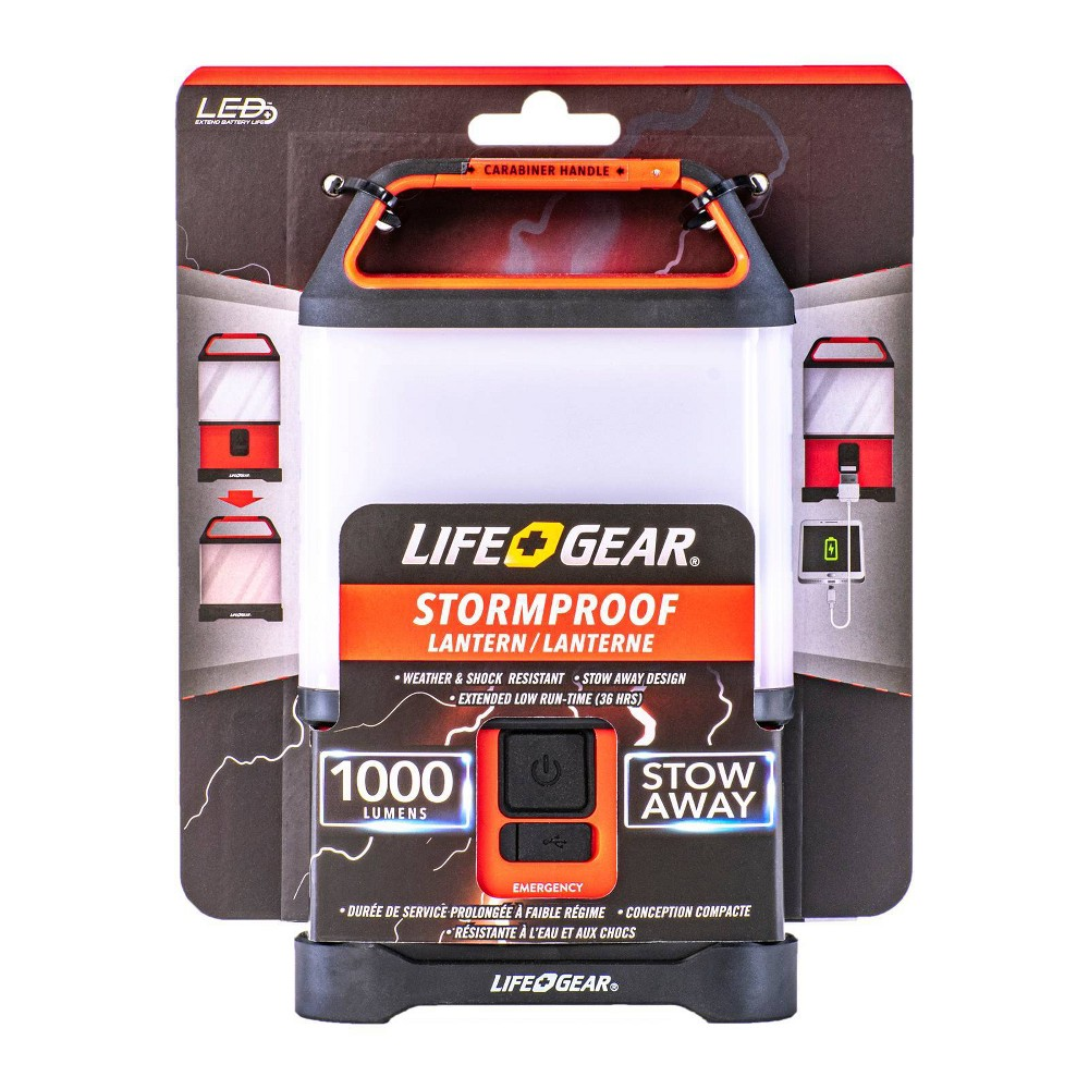 Life Gear 1000 Lumens Led Stow Away Collapsible Lantern