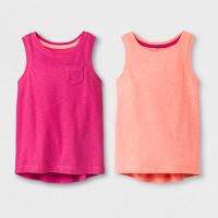 Target.com deals on 2-Pack Toddler Girls' Tank Tops Cat & Jack