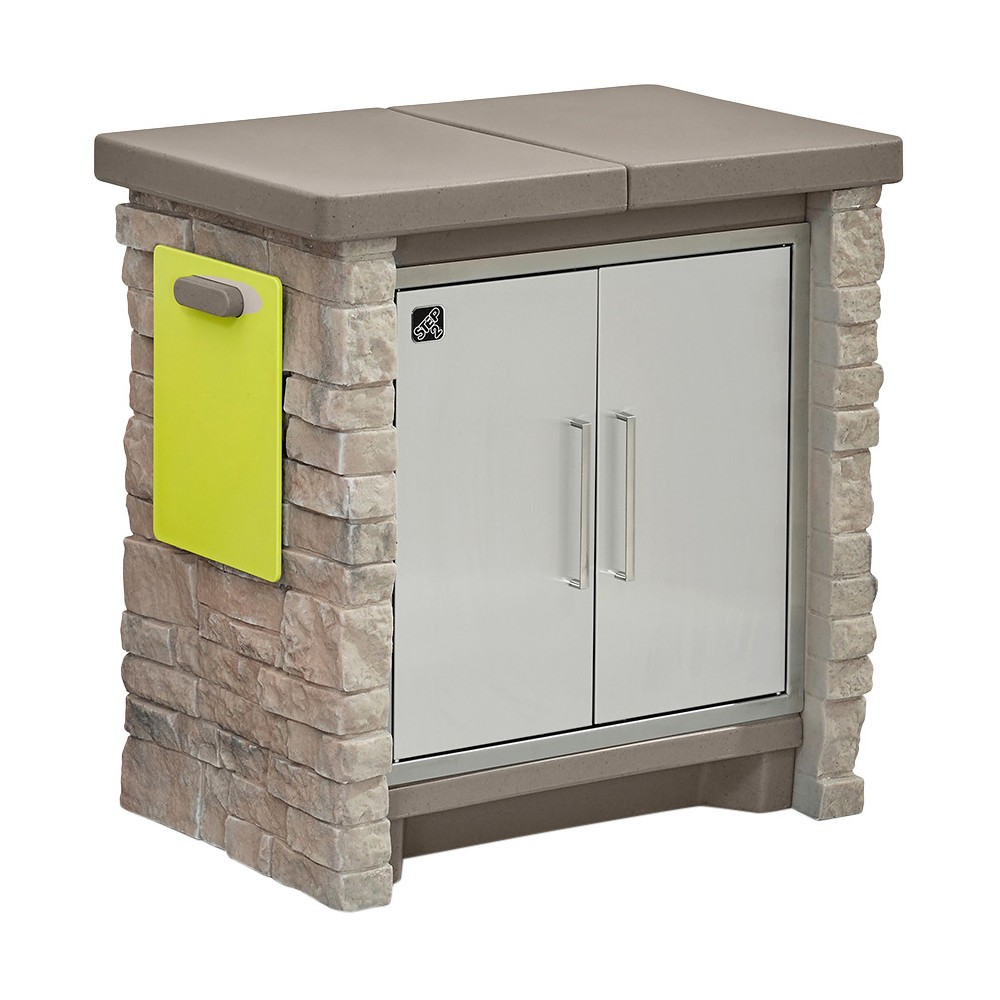 Stonefront Patio Collection Cooler & Storage - Step2, Beige