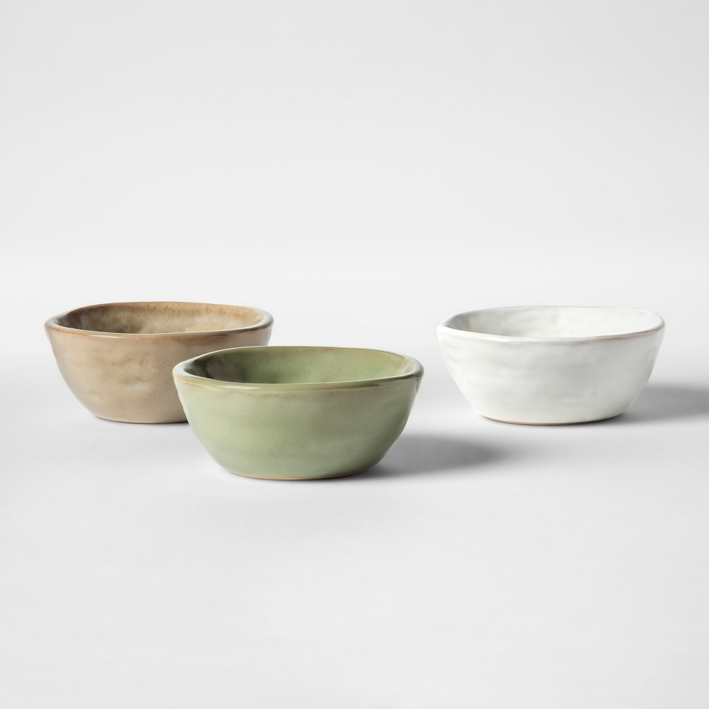 Image of Cravings by Chrissy Teigen 3pk 3 Pinch Bowls, Multi-Colored