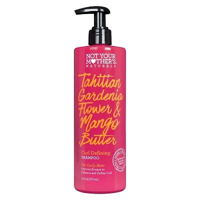 Not Your Mother's Naturals Tahitian Gardenia Flower & Mango Butter Curl Defining Shampoo - 16 fl oz