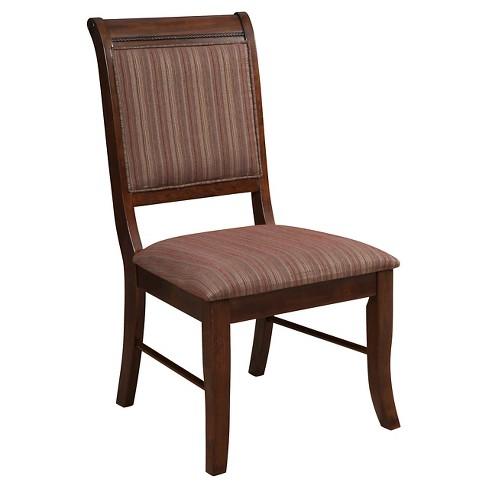 Mahavira Side Dining Chair (Set of 2) - Espresso - Acme - image 1 of 2