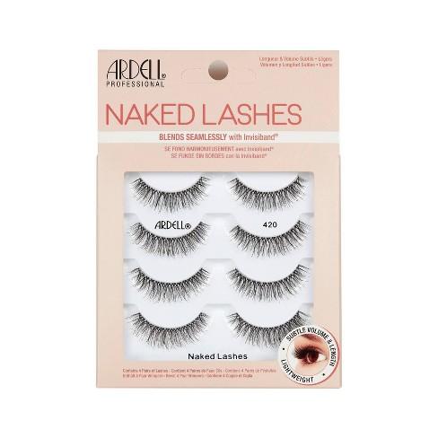 Ardell Naked 420 False Eyelashes - Black - 4pr - image 1 of 3