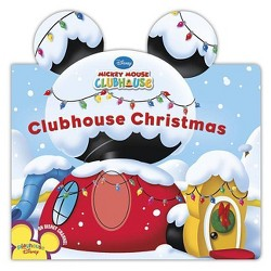 Clubhouse Christmas (Board Book) by Disney Book Group, Susan Amerikaner, Loter, Inc. (Illustrator)