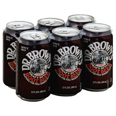 Soft Drinks: Dr. Brown's Root Beer