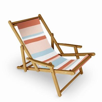 SunshineCanteen Mesa Desert Pastel Stripes Sling Chair - Deny Designs