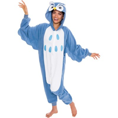 Silver Lilly - Women's Owl Novelty Union Suit