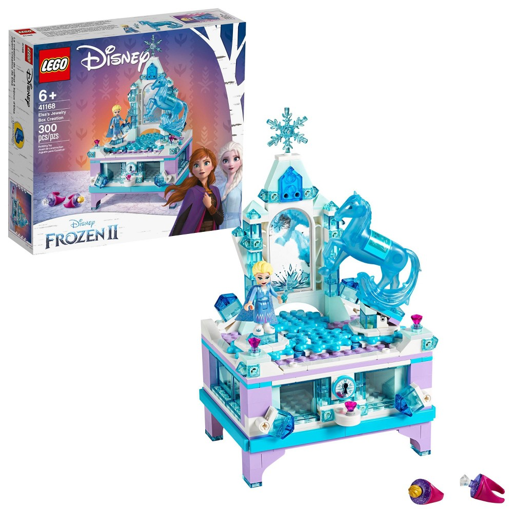 Lego Disney Frozen Princess Elsa's Jewelry Box Creation 41168