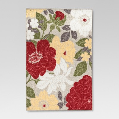 Red Accent Kitchen Rug (2'6 X3'10 )- Threshold™