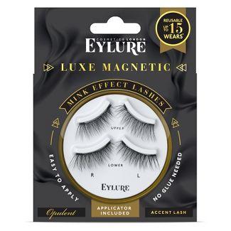 Eylure Luxe False Eyelashes Magnetic Opulent Corner - 1pr