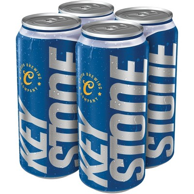 Keystone Light Beer - 4pk/16 fl oz Cans