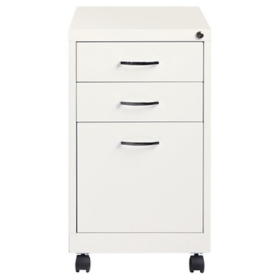 Charmant Hirsh Industries® Office Dimensions File Cabinet On Wheels, 3 Drawer    Pearl White : Target