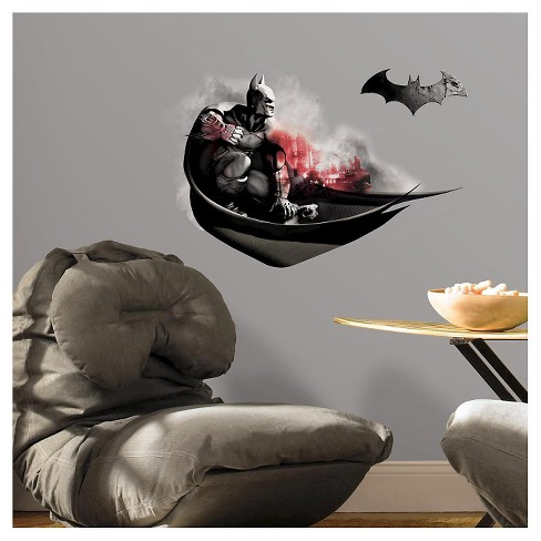 RoomMates Batman Arkham City Darkness Wall Graphix Peel and Stick Giant Wall Decals - image 1 of 2