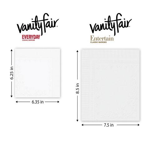 Vanity Fair Everyday Napkins 250ct Target
