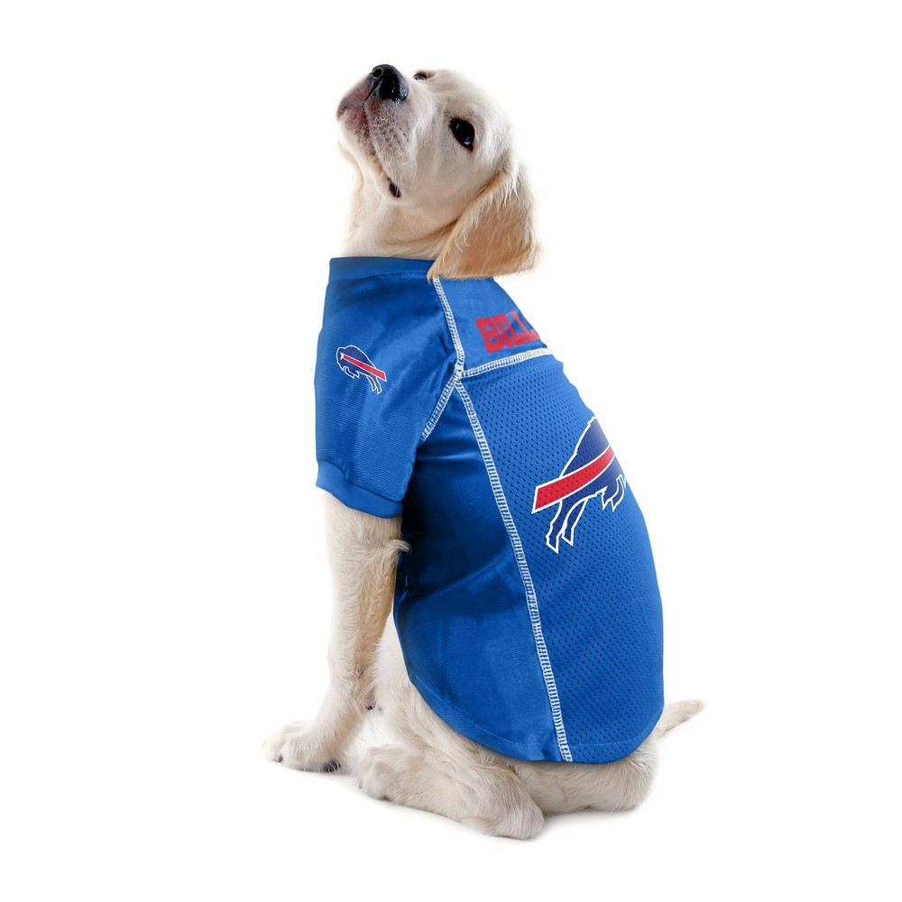 Buffalo Bills Little Earth Pet Football Jersey - Blue XS