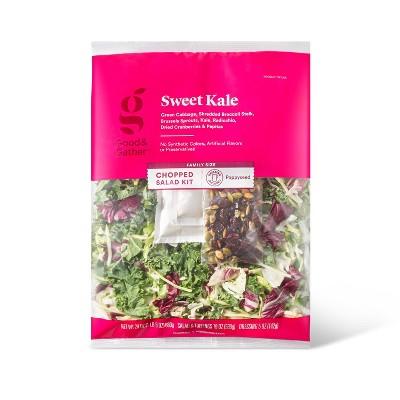 Sweet Kale Chopped Salad Kit - 24oz - Good & Gather™