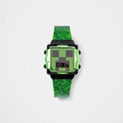 Boys' Minecraft Watch - Green