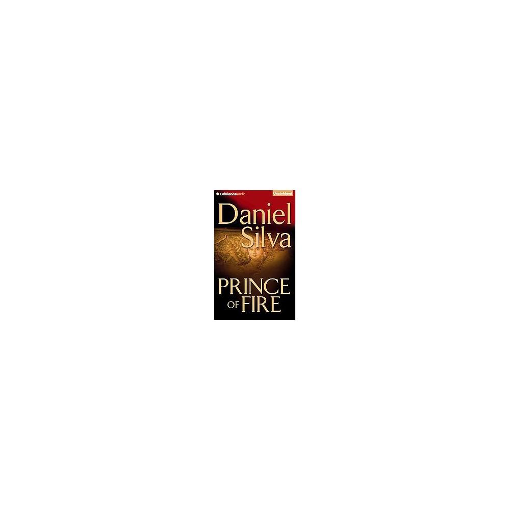 Prince of Fire (Unabridged) (CD/Spoken Word) (Daniel Silva)