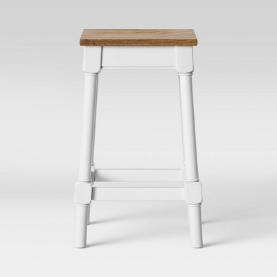 Salem Farmhouse Square Counter Stool   Threshold™ by Threshold
