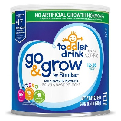 Baby Formula: Similac Go & Grow