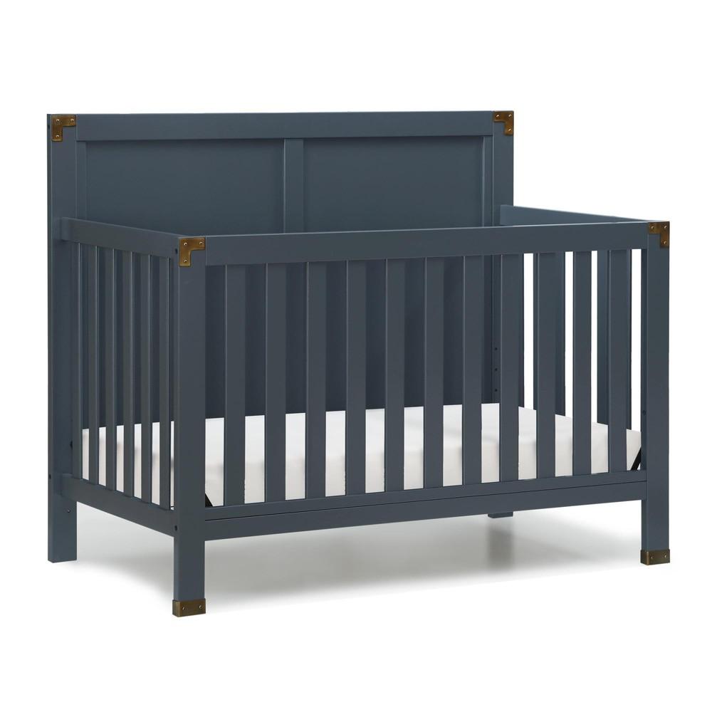 Baby Relax Standard Full-sized Crib Graphite Blue