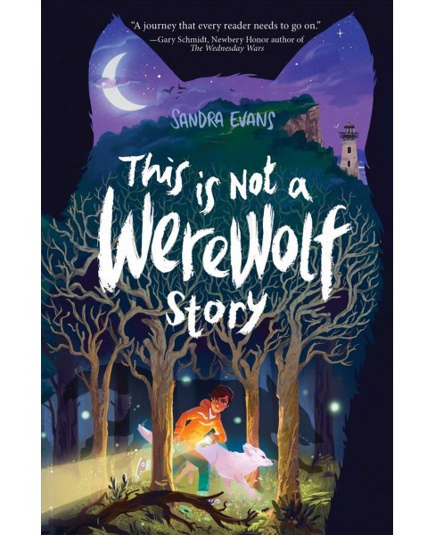 This Is Not a Werewolf Story -  Reprint by Sandra Evans (Paperback) - image 1 of 1