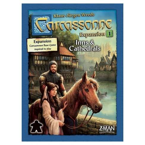 Carcassonne Strategy Board Game Inns & Cathedrals Expansion Pack - image 1 of 1
