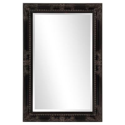 Queen Ann Rectangular Mirror Black - Howard Elliott