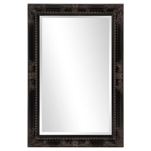 Howard Elliott - Queen Ann Rectangular - Black Mirror - image 1 of 4