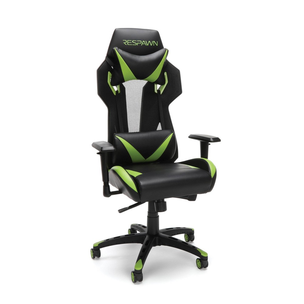 Image of 205 Racing Style Gaming Chair Green - RESPAWN