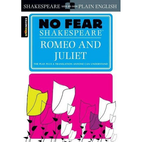 Romeo and Juliet (No Fear Shakespeare) - (Sparknotes No Fear Shakespeare) by  Sparknotes (Paperback) - image 1 of 1
