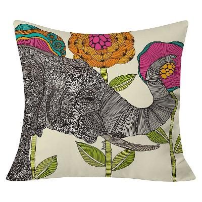 """Pink Valentina Ramos Aaron Throw Pillow (20""""x20"""") - Deny Designs"""