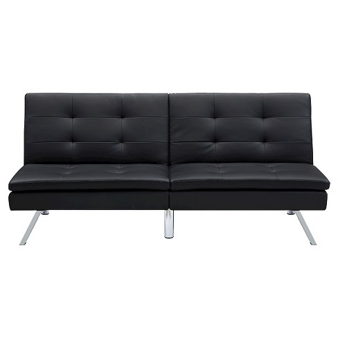 Chelsea Convertible Futon Black Dorel Home Products