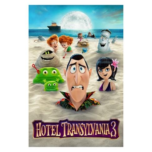 Hotel Transylvania 3 DVD Target