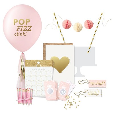 Inklings Paperie® Champagne Pink Bridal Shower Collection