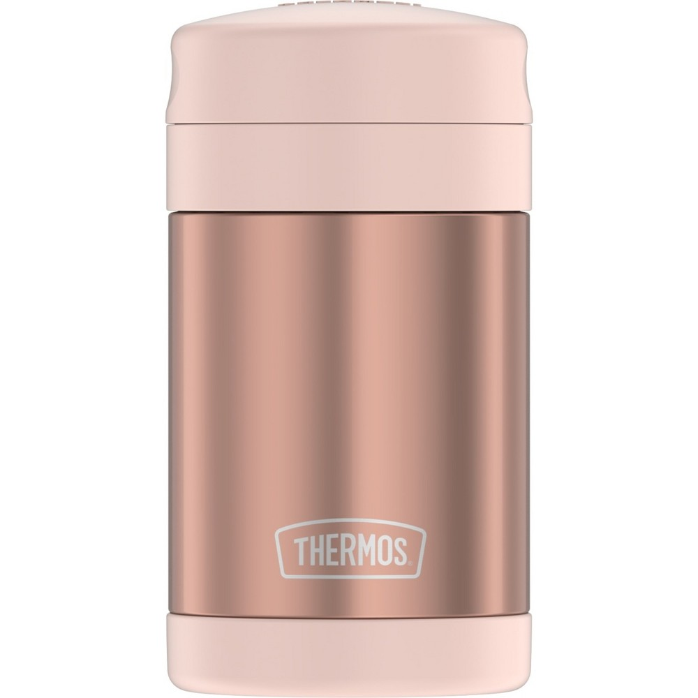 Image of Thermos 16oz Food Jar with Spoon - Rose Gold