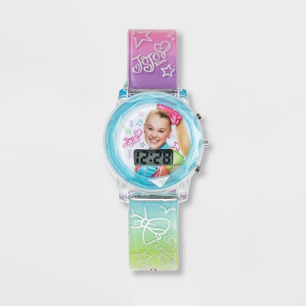 Image of Girls' Nickelodeon JoJo Siwa Flashing LCD Watch - Pink, Girl's