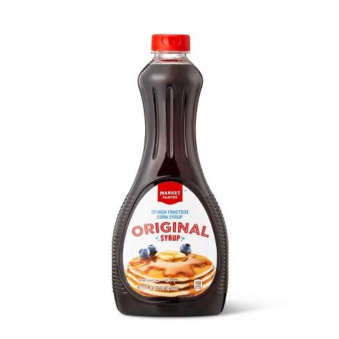 Original High Fructose Corn Syrup Free Syrup - 24 fl oz - Market Pantry™ - image 1 of 2