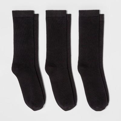 Women's 3pk Crew Socks - A New Day™ 4-10