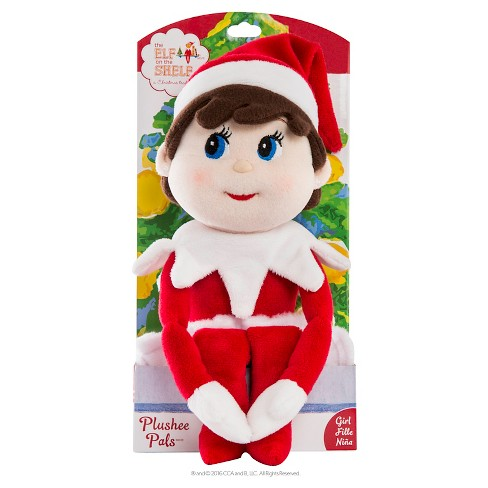 The Elf On The Shelf Plushee Pals Light Skin Tone Girl Target