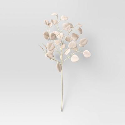 "28"" Artificial Eucalyptus Stem White - Threshold™"
