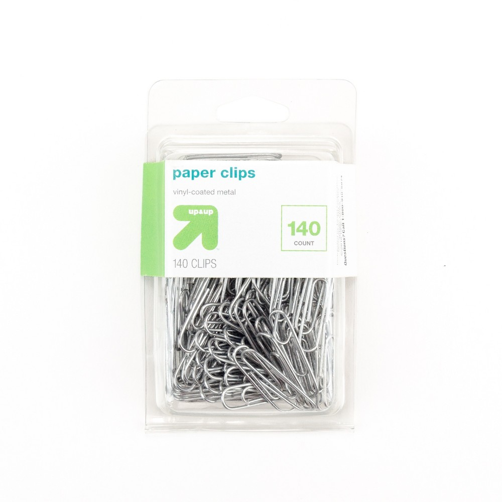 Paper Clips Small 140ct - Up&Up, Silver