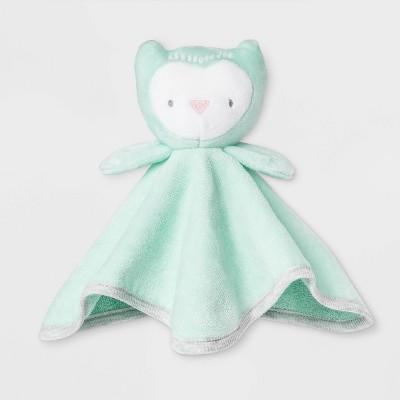 Baby Owl Washcloth - Cloud Island™ Mint Green One Size