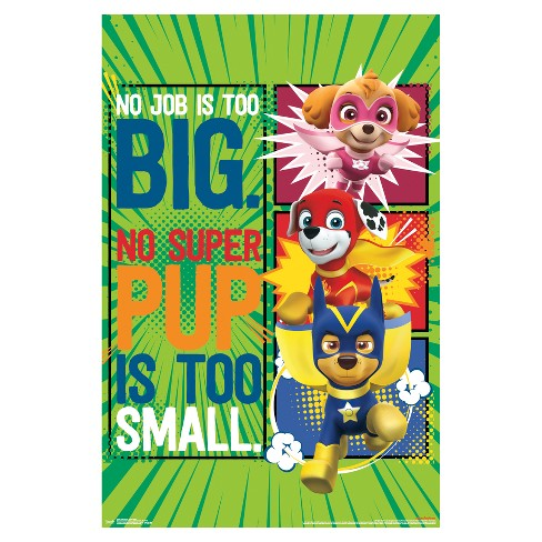 PAW Patrol Super Pups Poster 34x22 - Trends International - image 1 of 1