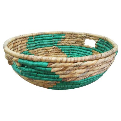 Green Short Woven Basket - Threshold™