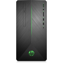 HP Pavilion Gaming Desktop AMD Ryzen 5 8GB RAM 1TB HDD 128GB SSD Black - AMD Ryzen 5 2400G Quad-core - AMD Radeon RX 580 4GB