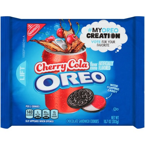 Oreo Cherry Cola Chocolate Sandwich Cookies - My Oreo Creation - 10.7oz - image 1 of 2