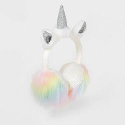 Girls' Unicorn Earmuffs - Cat & Jack™ White One Size