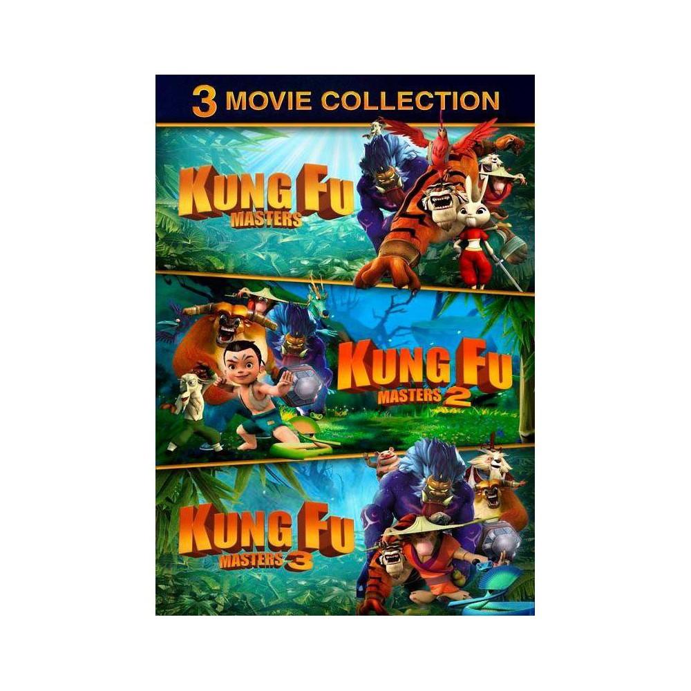 Kung Fu Masters 1-3 (DVD) Cheap