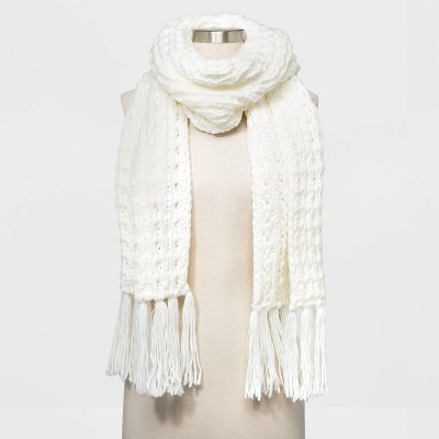 Women's Hand Knit Scarf - Universal Thread™